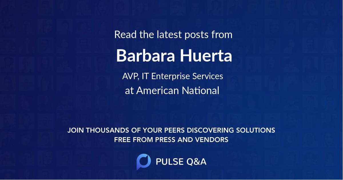 Barbara Huerta