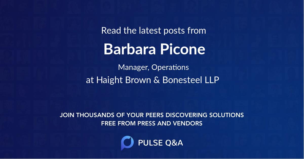 Barbara Picone