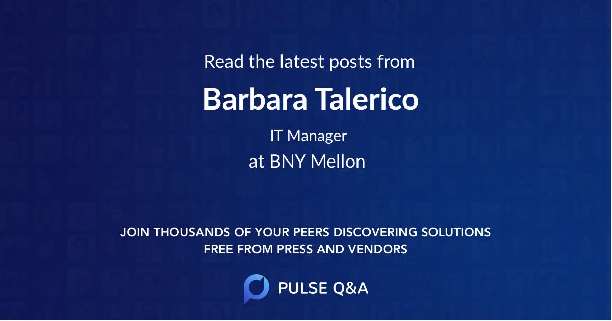 Barbara Talerico