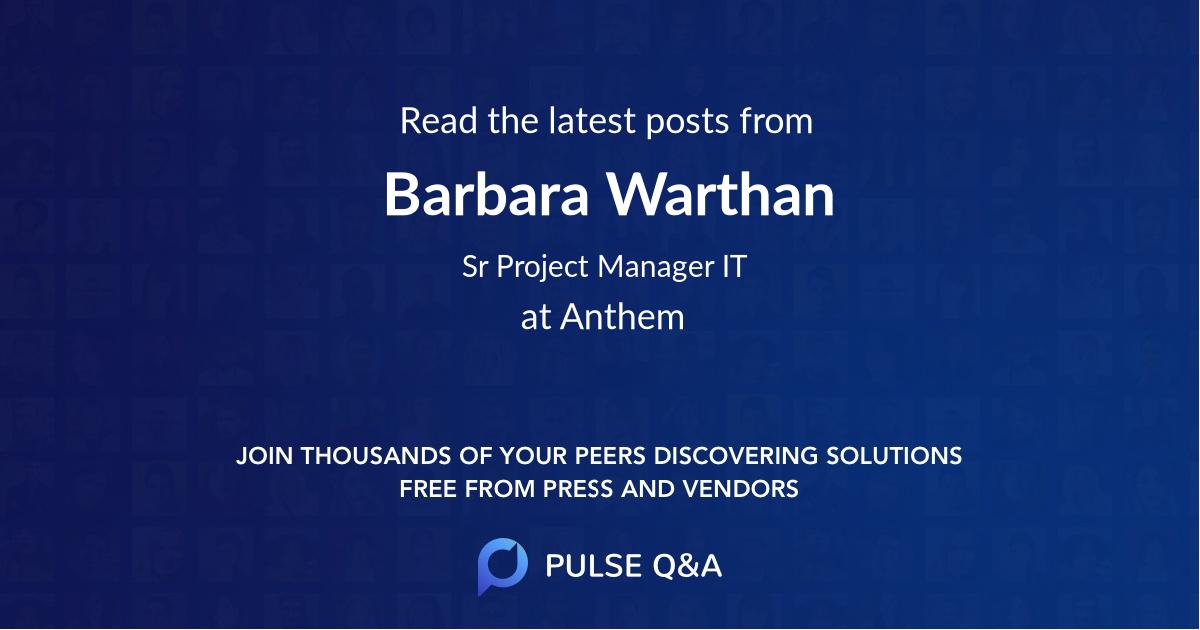 Barbara Warthan