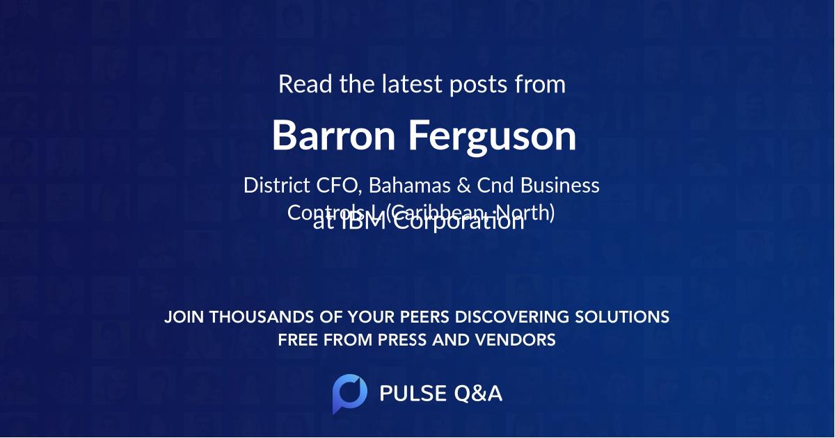 Barron Ferguson