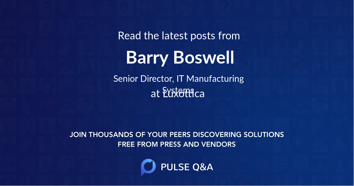 Barry Boswell