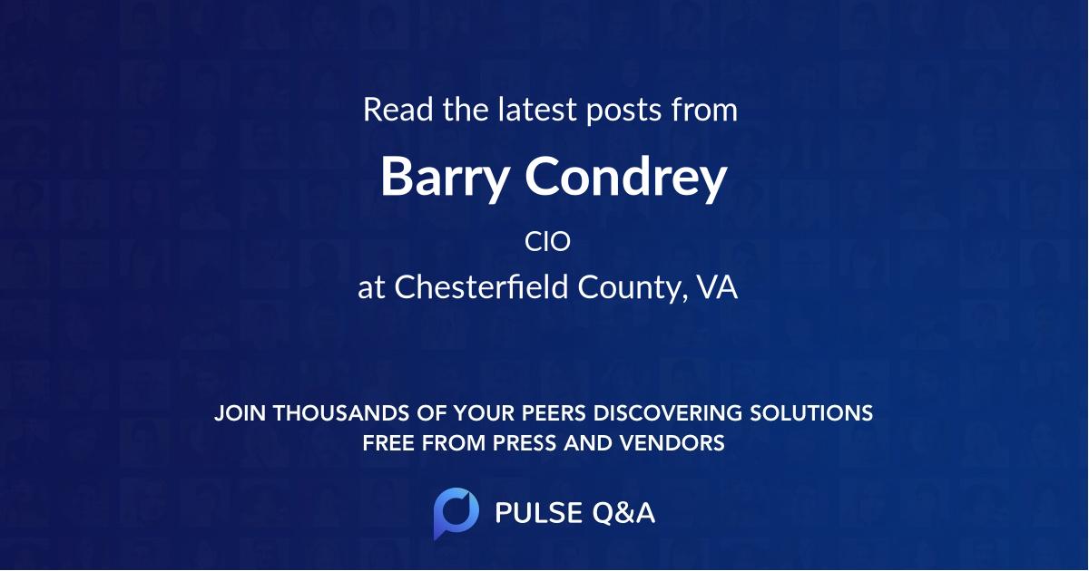 Barry Condrey