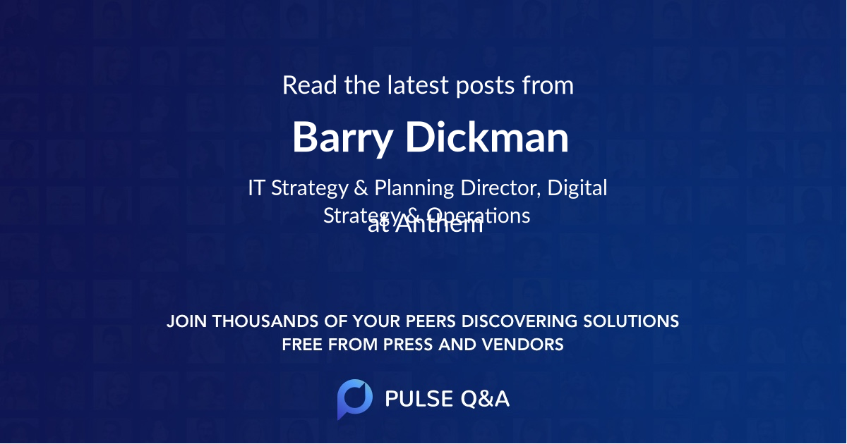 Barry Dickman