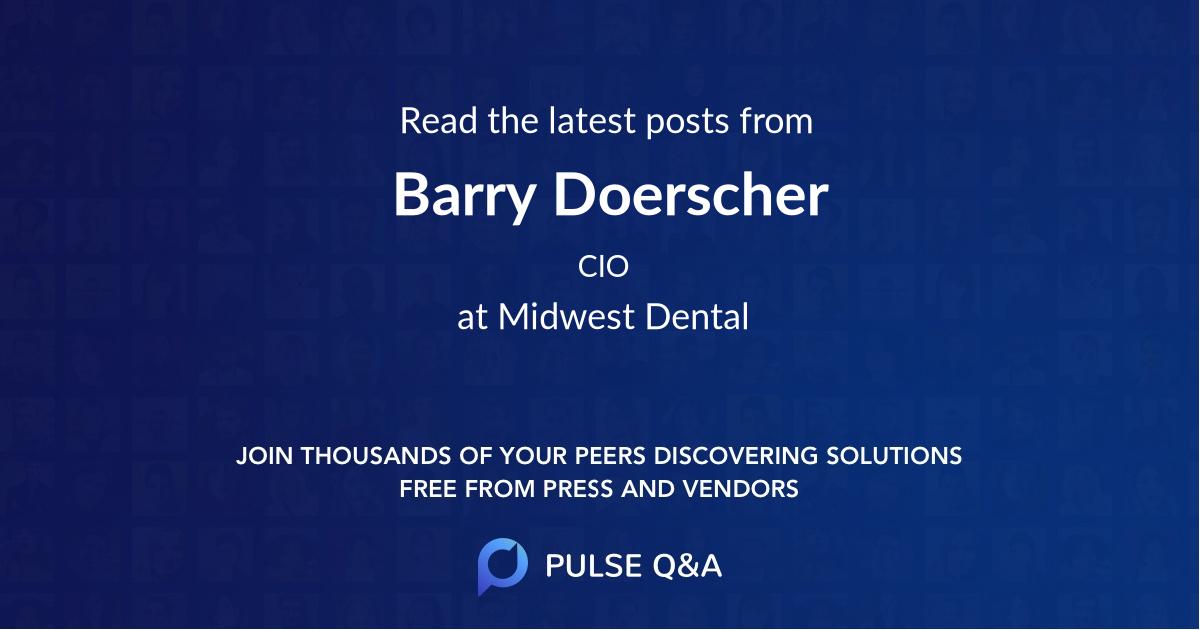 Barry Doerscher