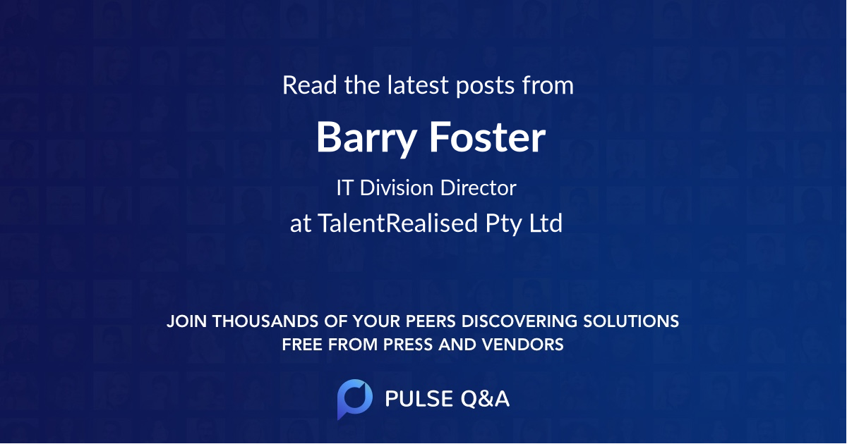 Barry Foster