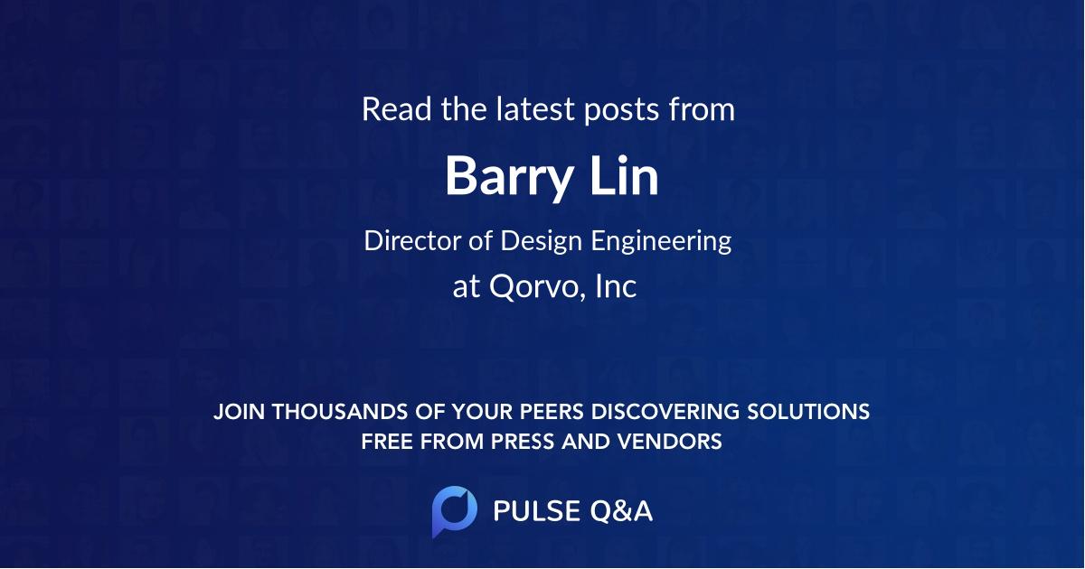 Barry Lin