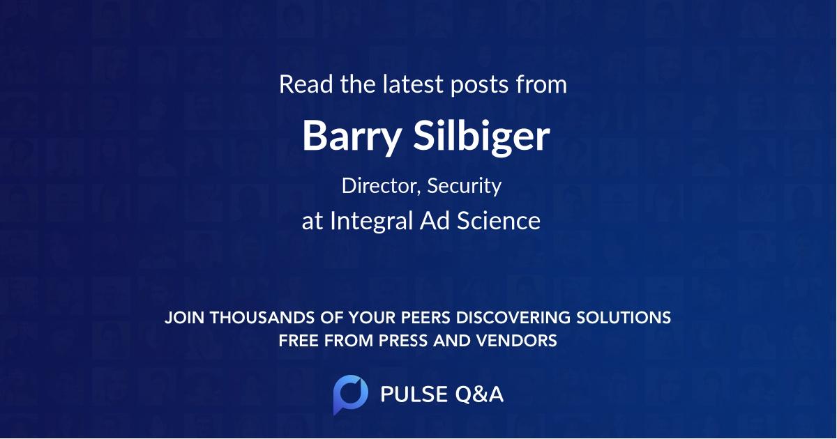 Barry Silbiger