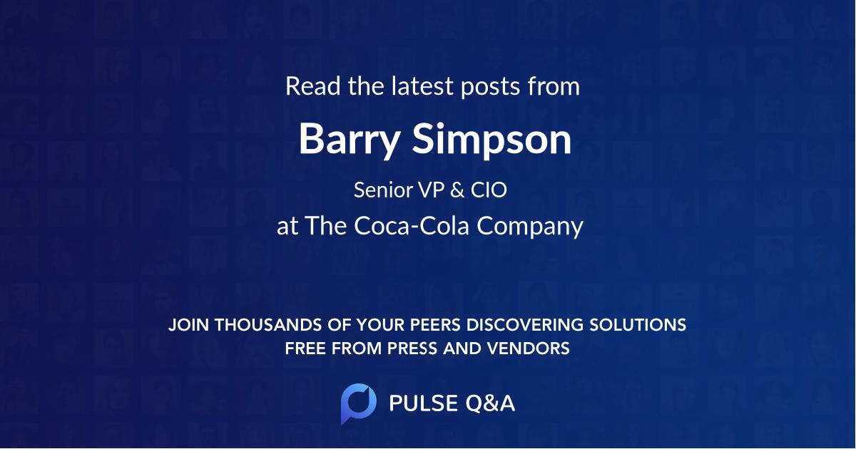 Barry Simpson
