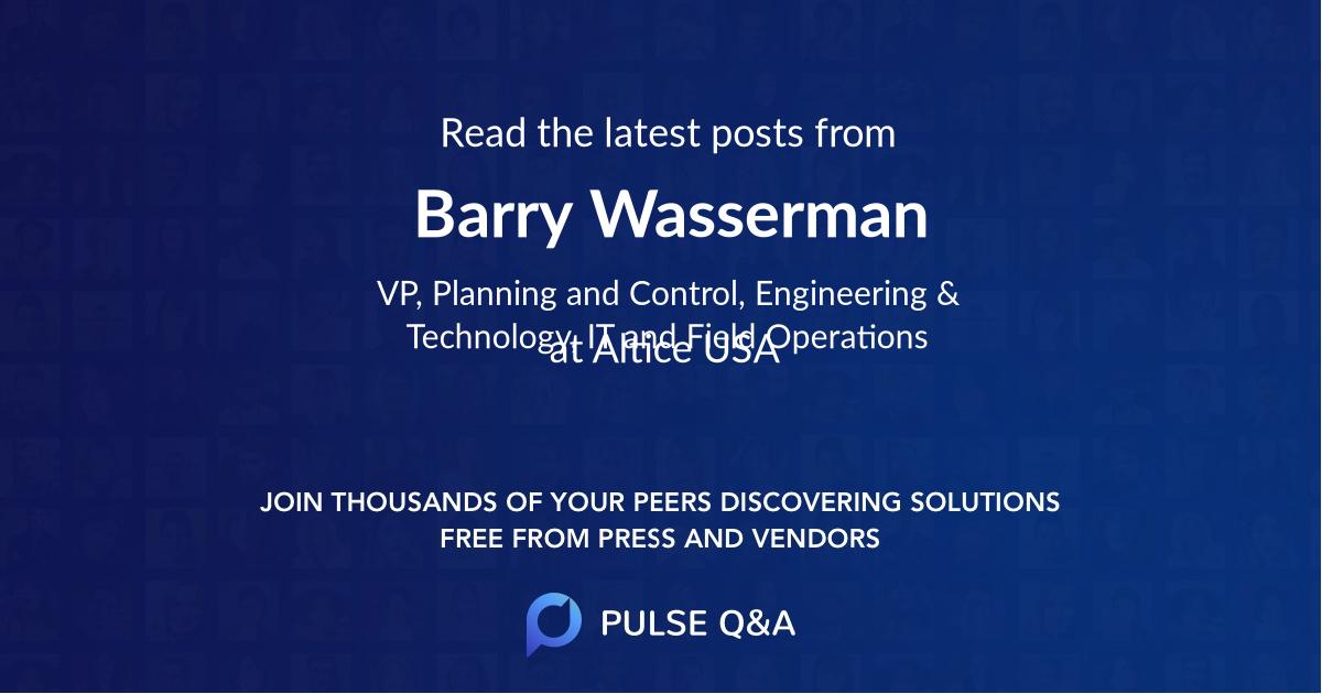 Barry Wasserman