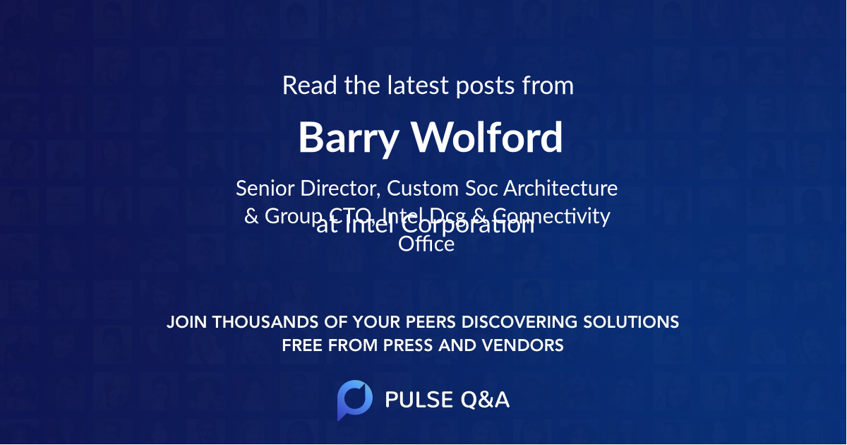 Barry Wolford