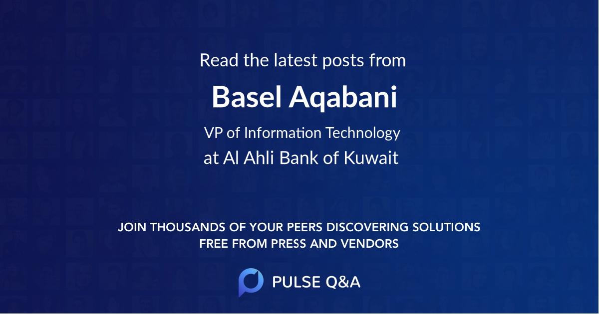 Basel Aqabani