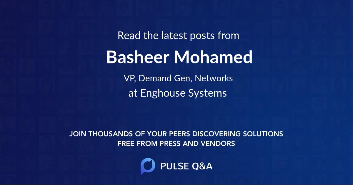 Basheer Mohamed