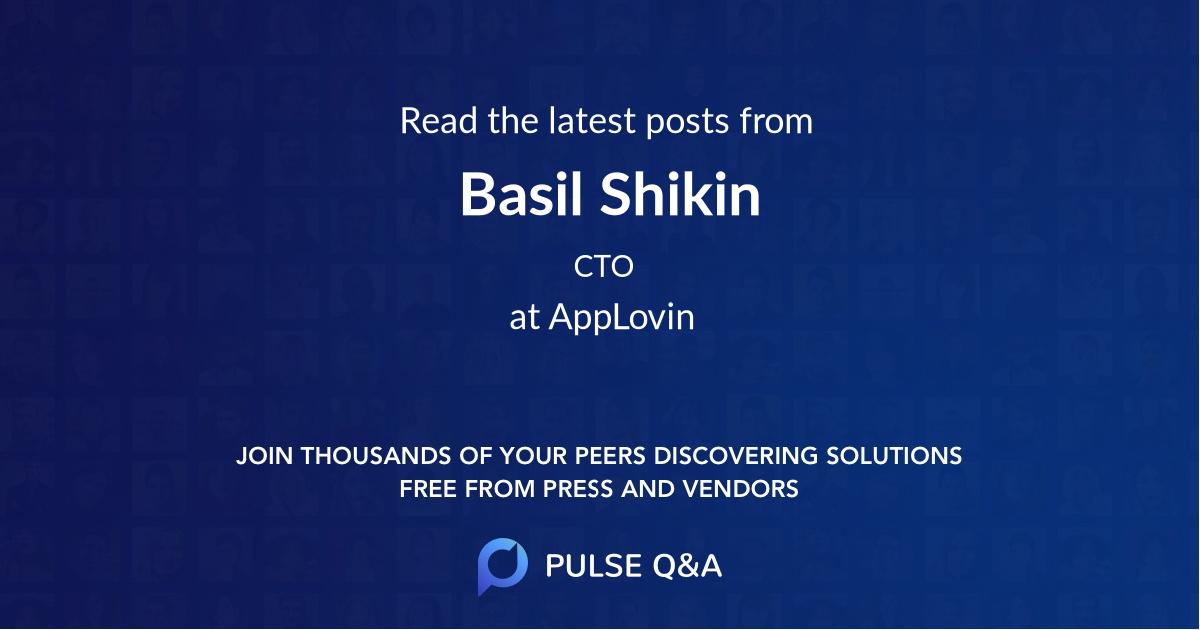 Basil Shikin