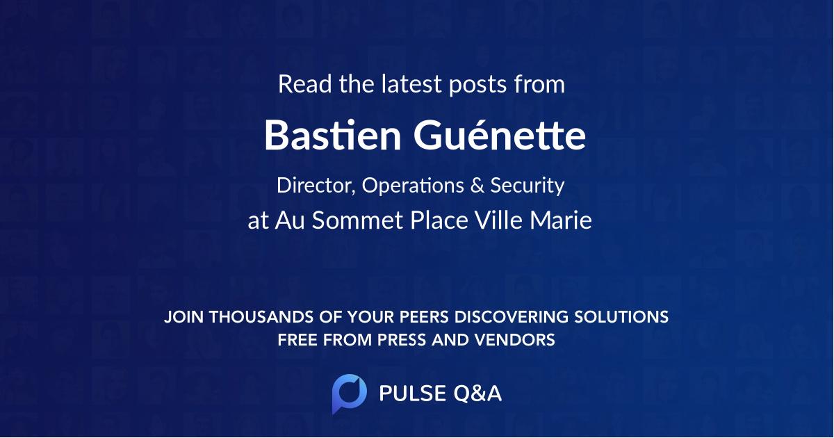 Bastien Guénette
