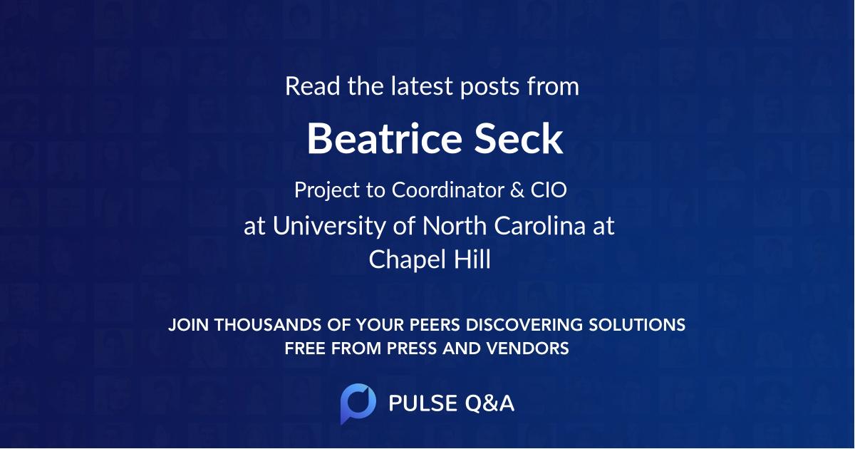 Beatrice Seck