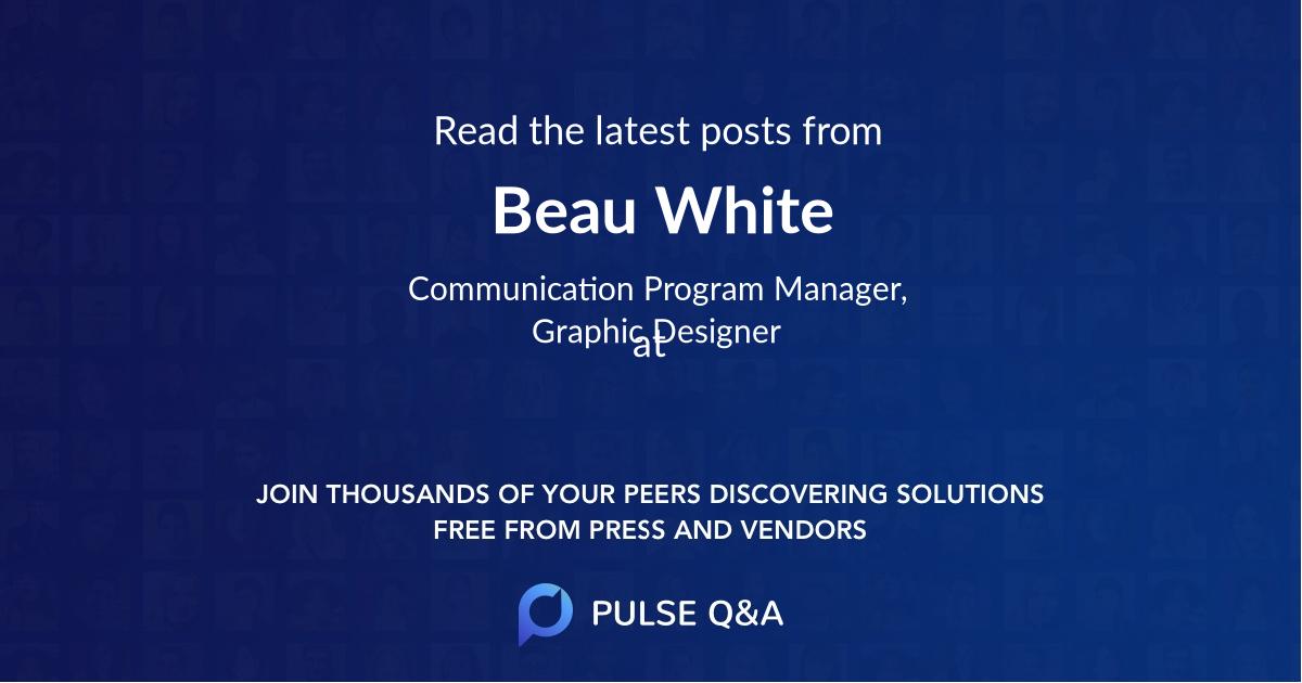 Beau White