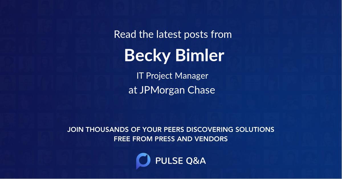 Becky Bimler