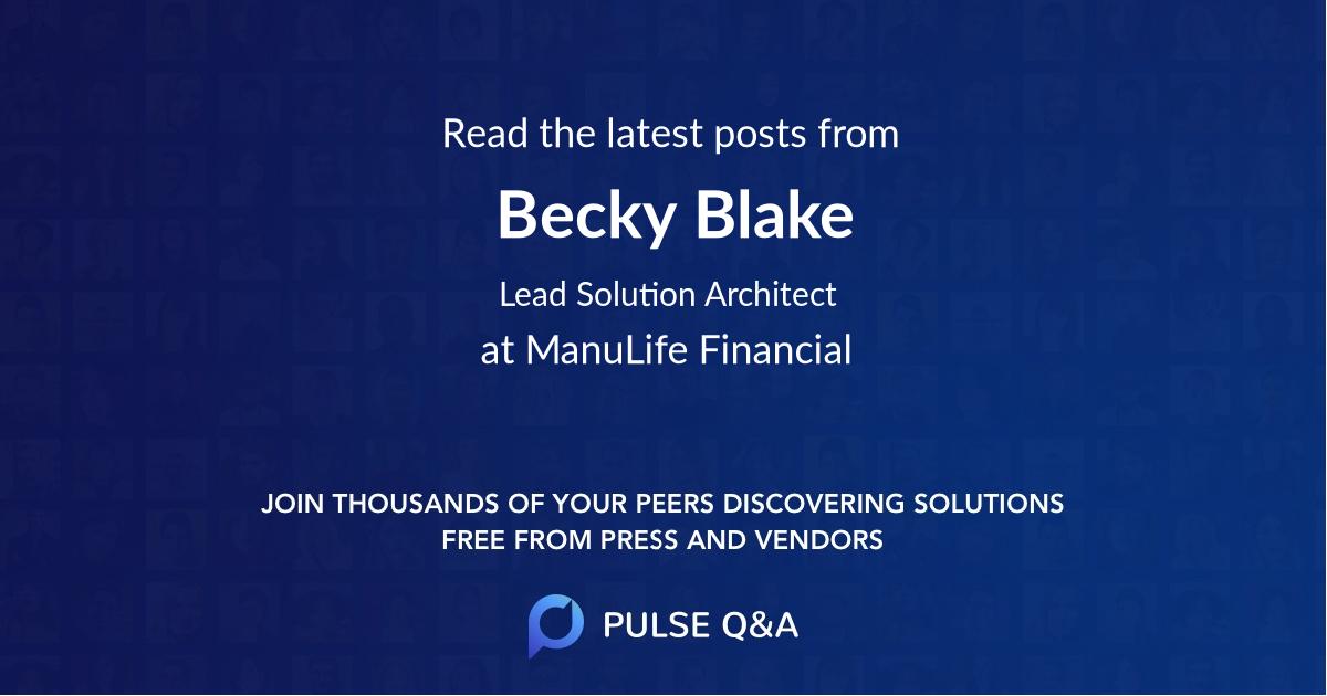 Becky Blake