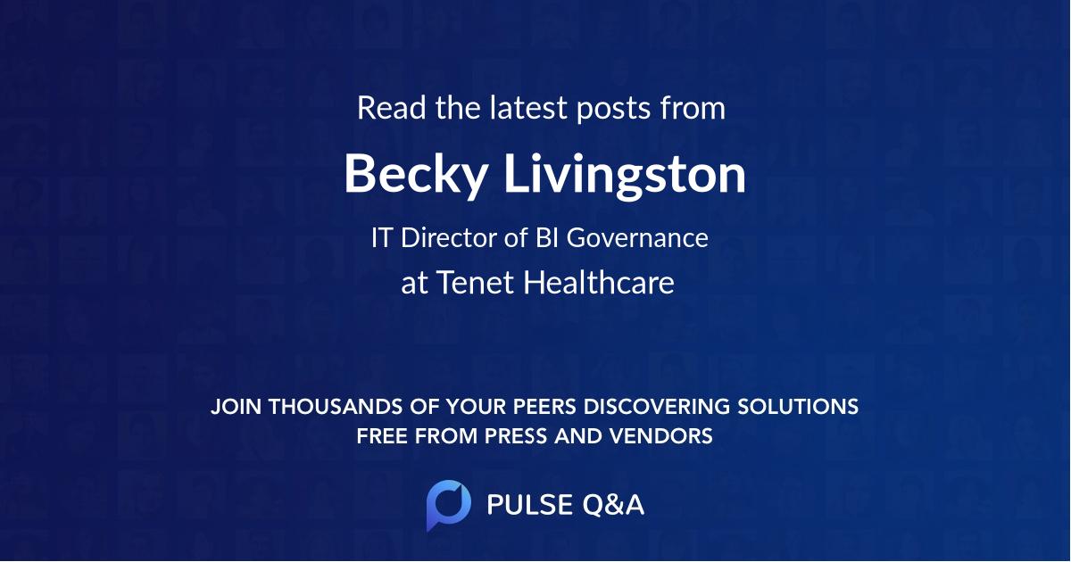Becky Livingston