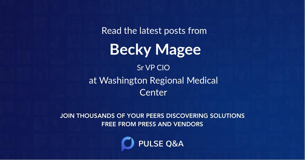 Becky Magee