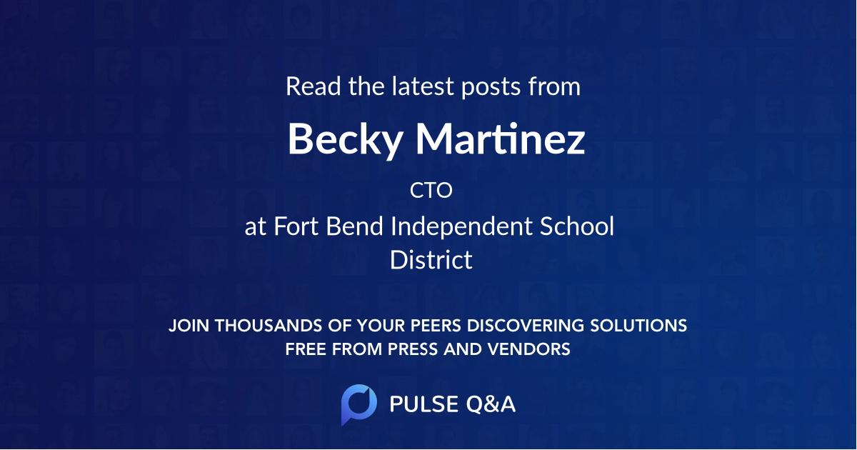 Becky Martinez