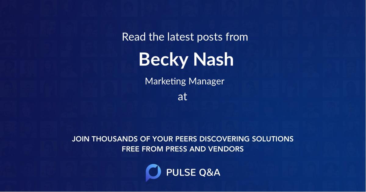 Becky Nash