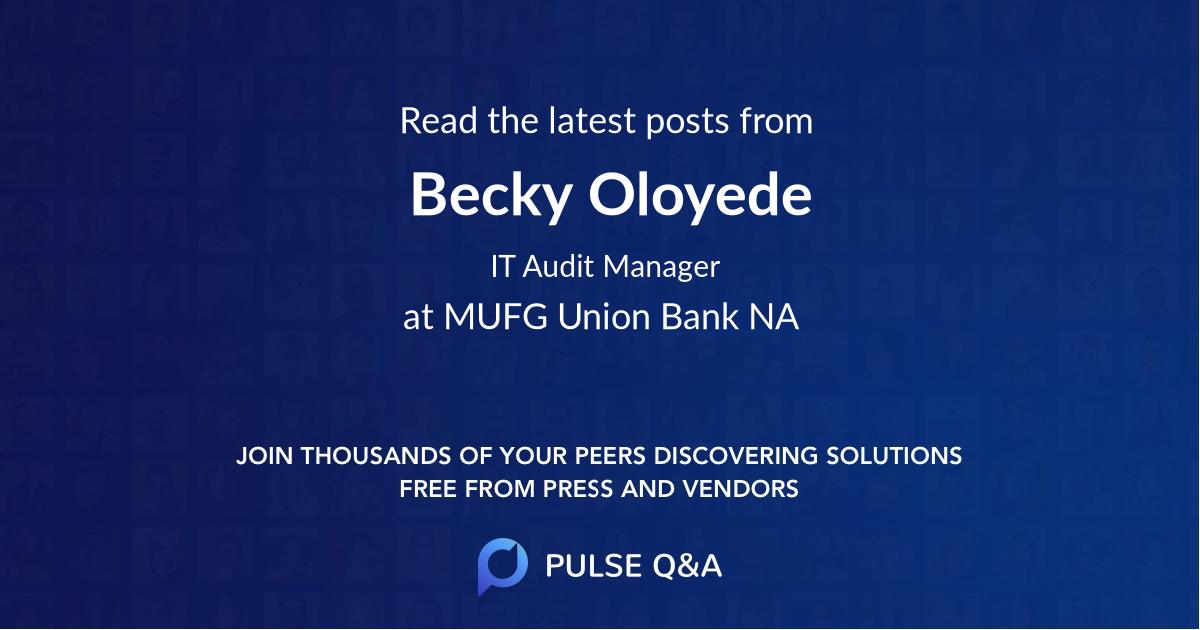 Becky Oloyede