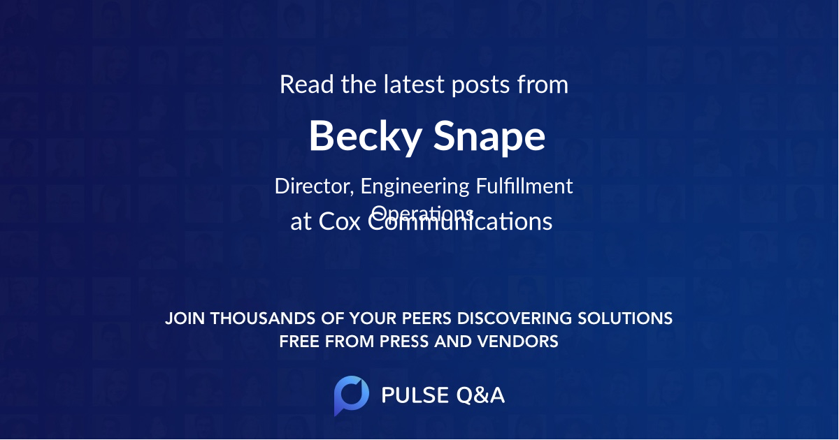 Becky Snape