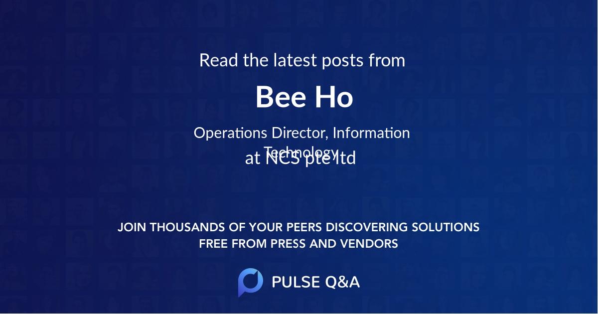 Bee Ho