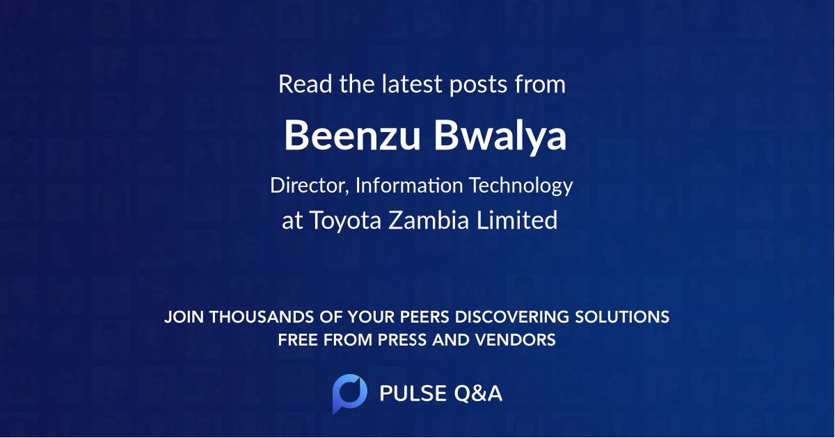 Beenzu Bwalya