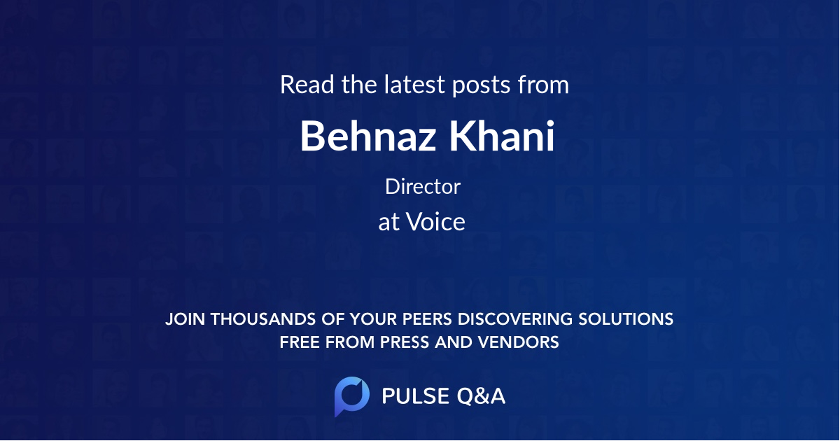 Behnaz Khani