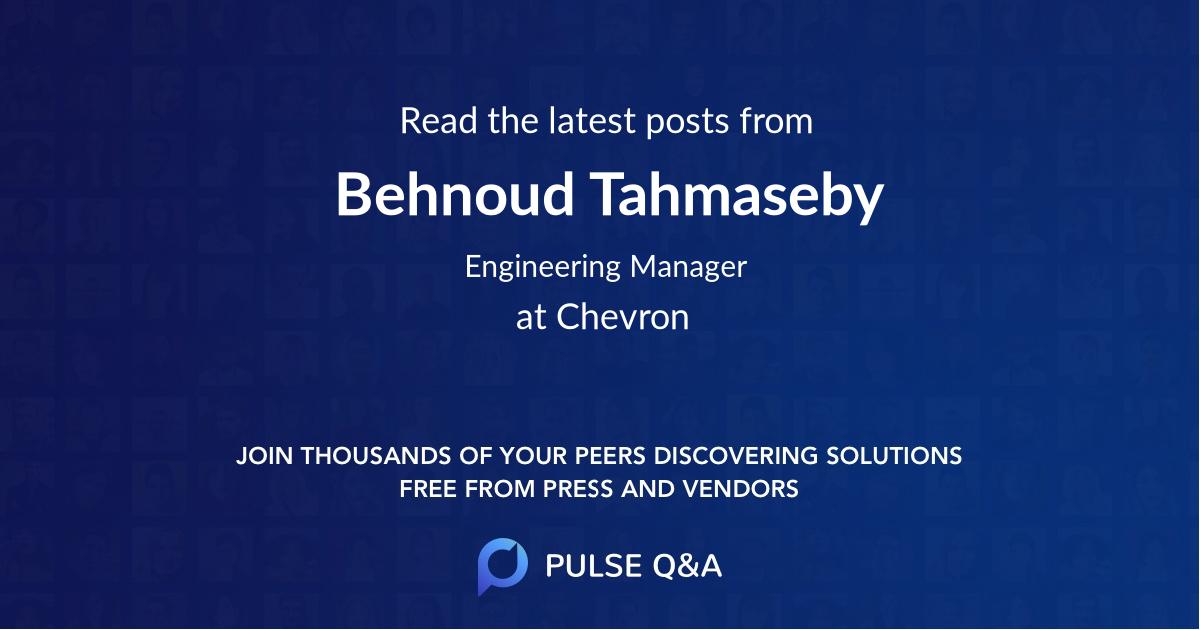 Behnoud Tahmaseby