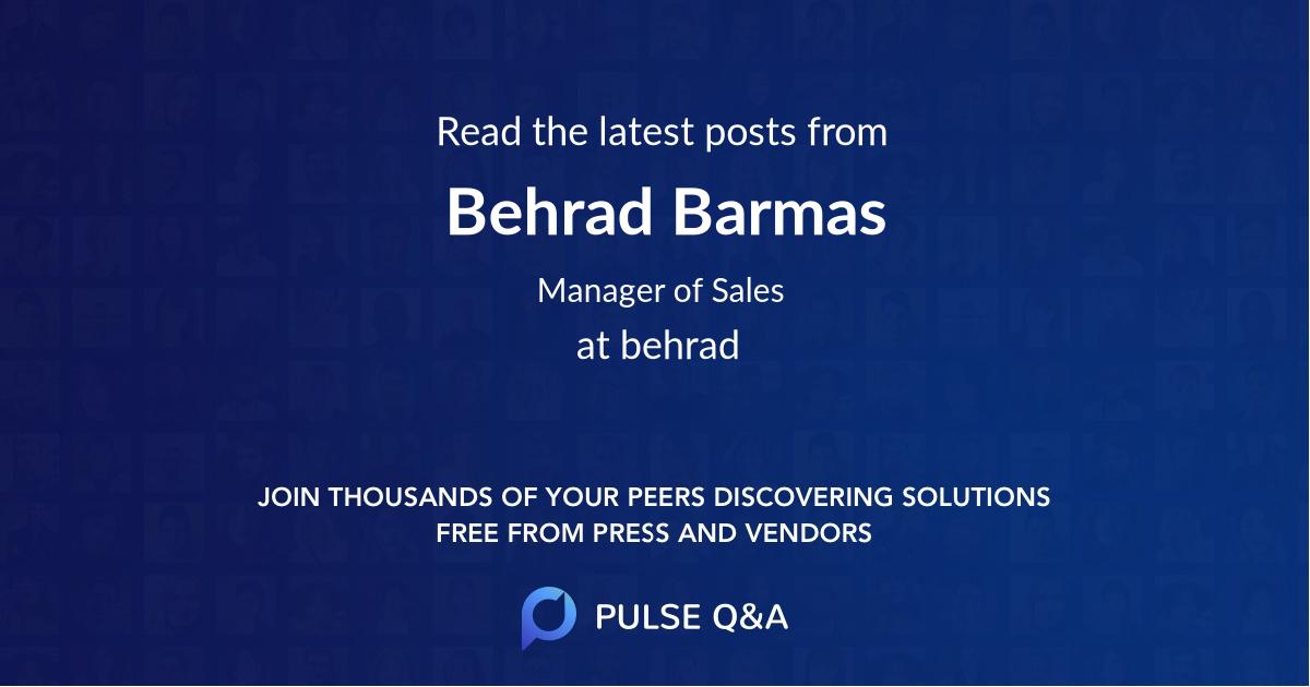 Behrad Barmas