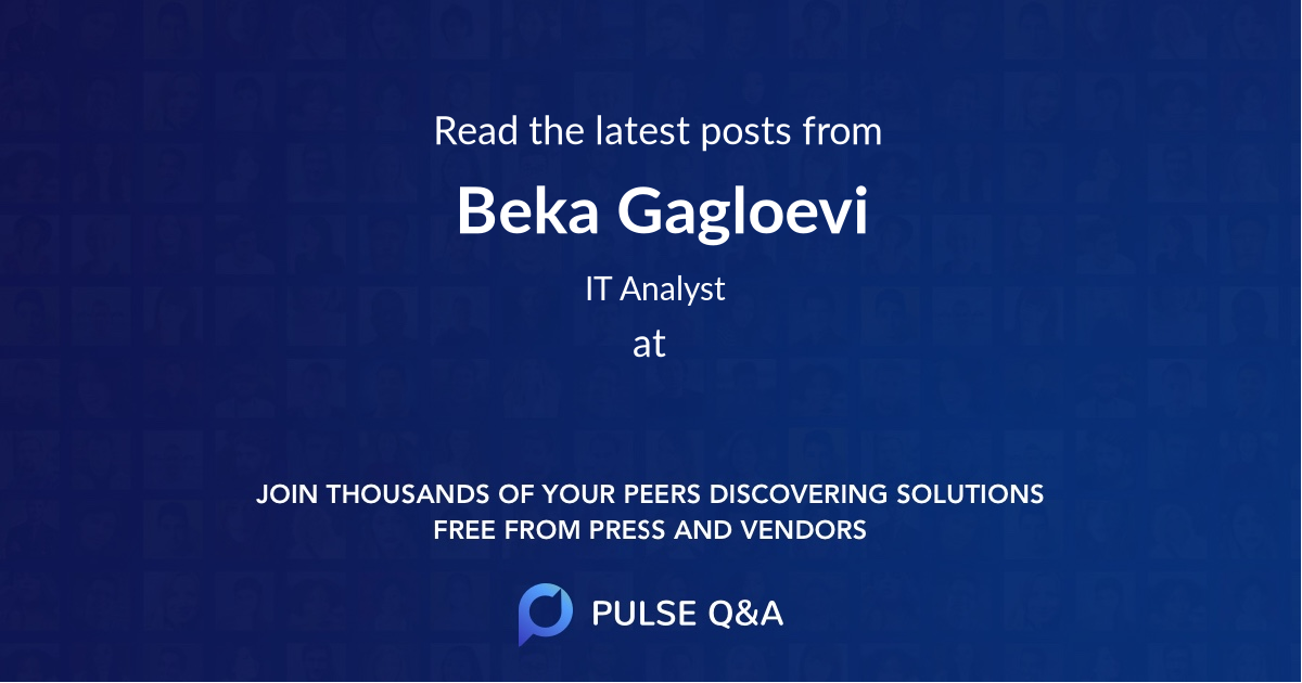 Beka Gagloevi