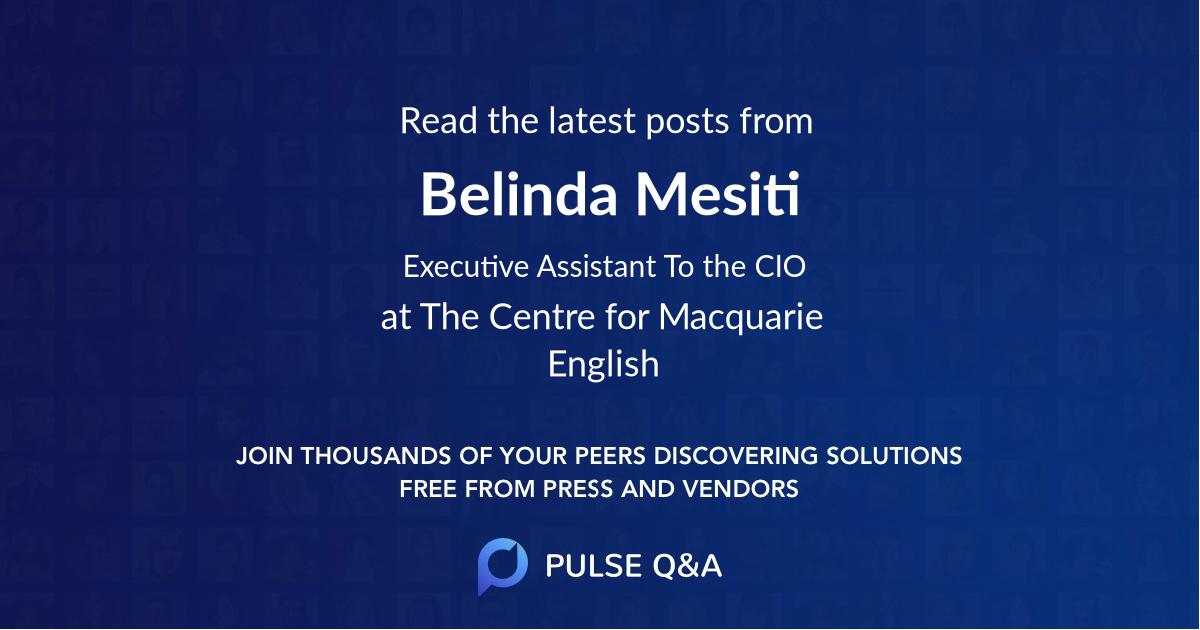 Belinda Mesiti