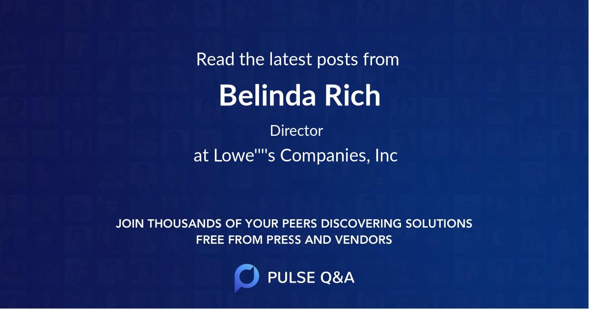 Belinda Rich