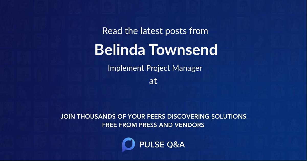 Belinda Townsend