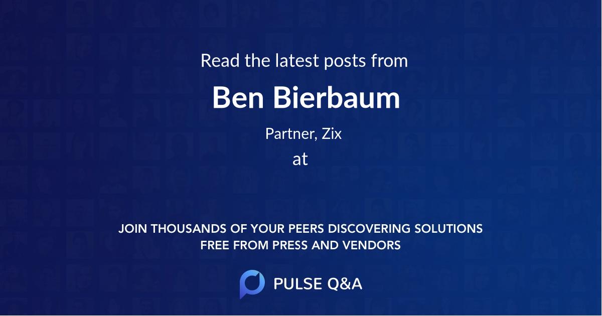 Ben Bierbaum