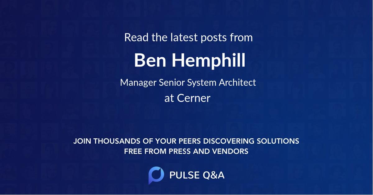 Ben Hemphill