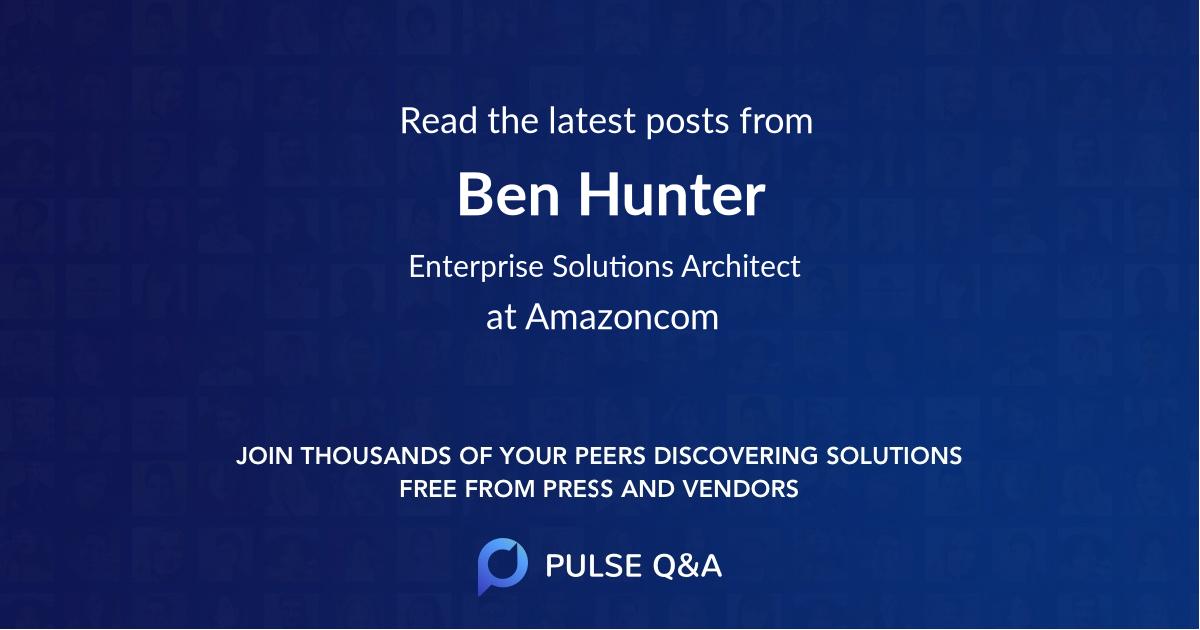 Ben Hunter