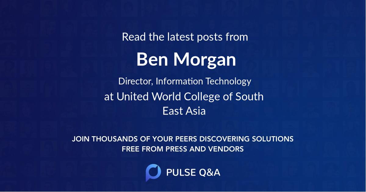 Ben Morgan