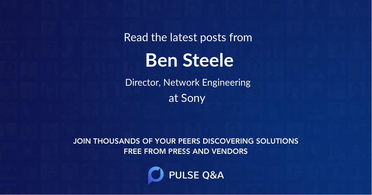 Ben Steele