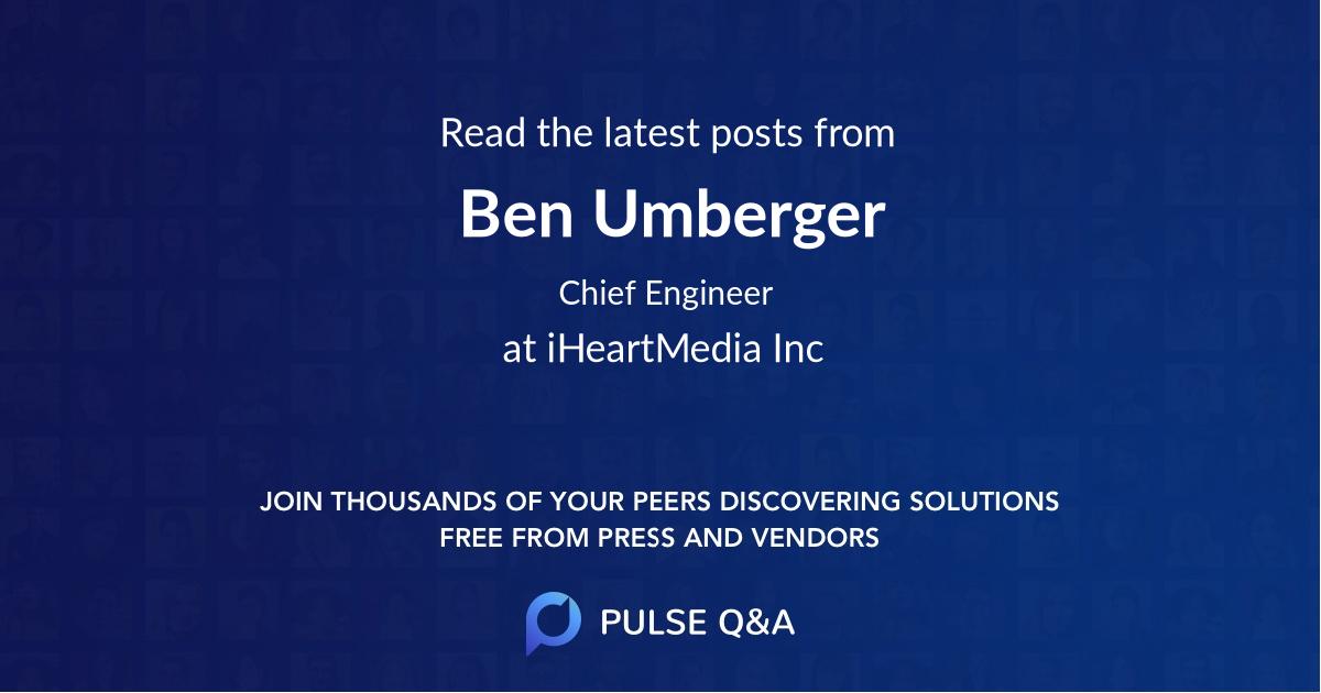 Ben Umberger
