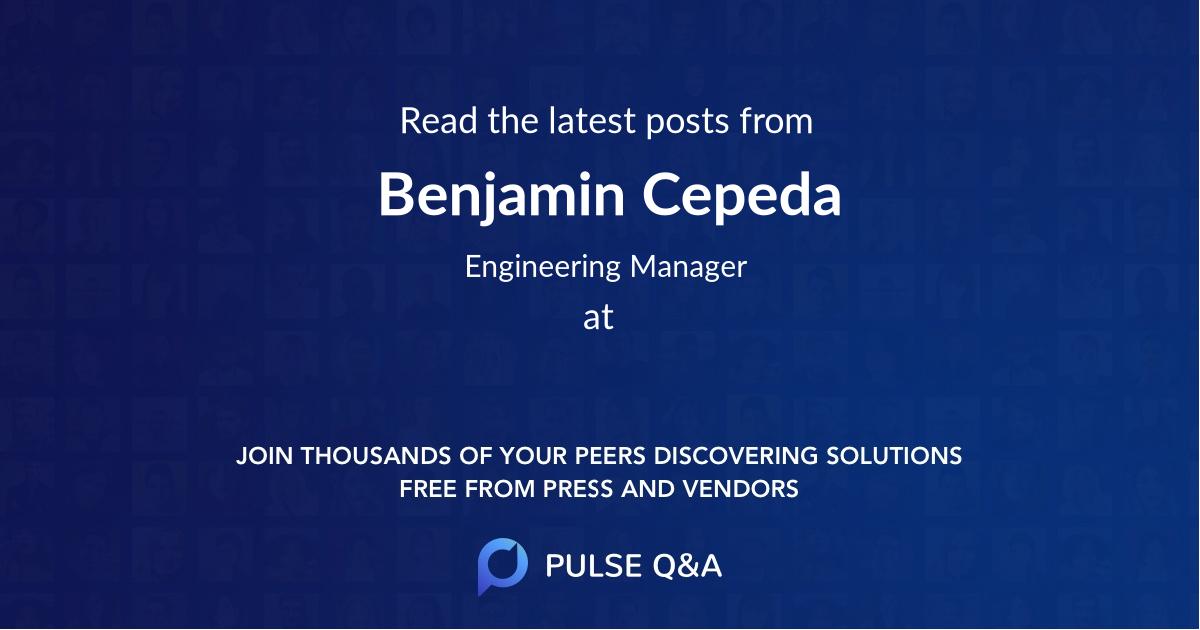 Benjamin Cepeda