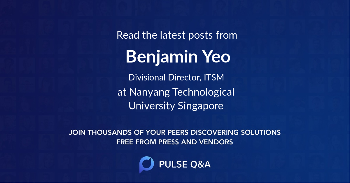 Benjamin Yeo
