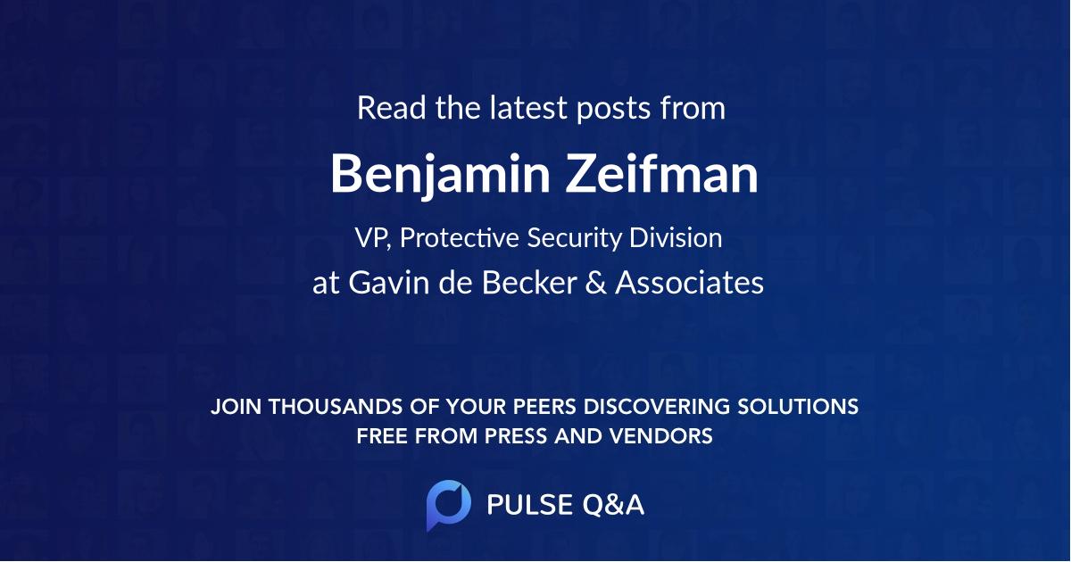 Benjamin Zeifman
