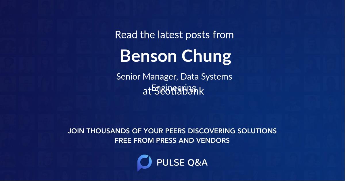 Benson Chung