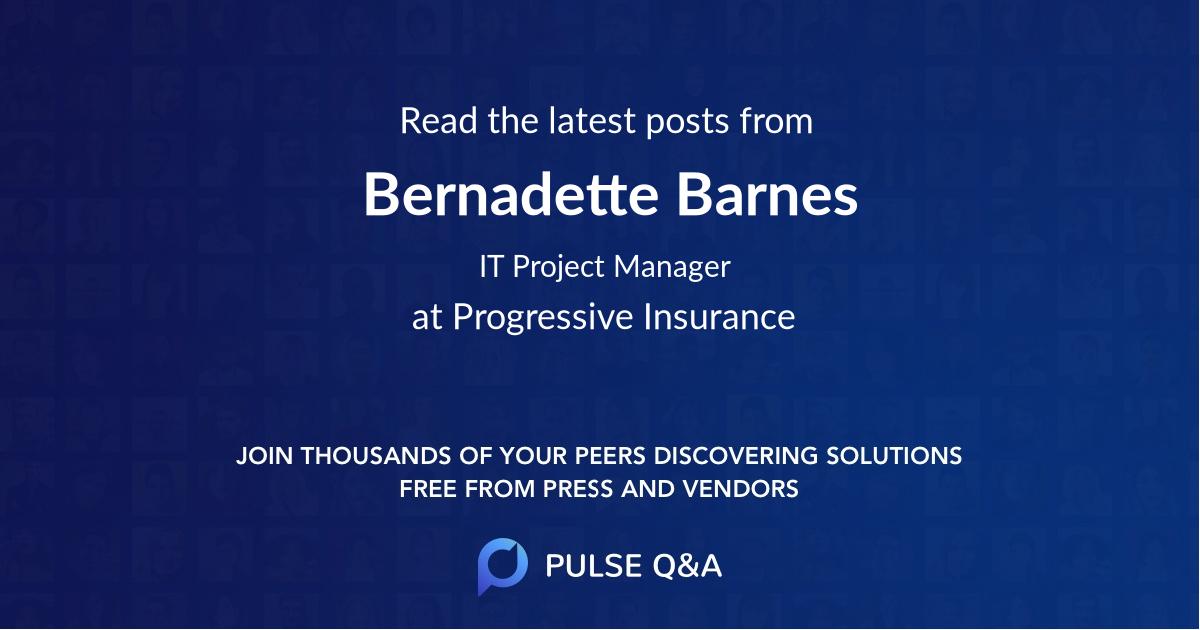 Bernadette Barnes