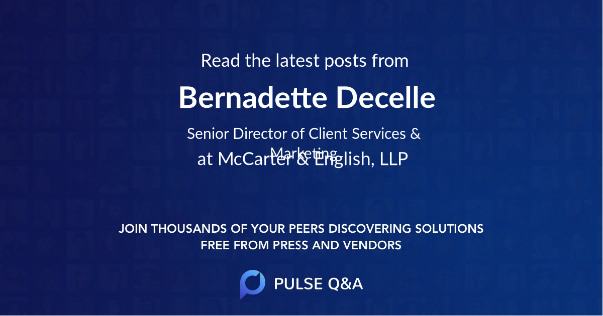 Bernadette Decelle